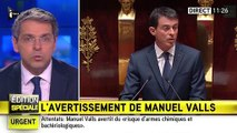 Quand Manuel Valls fait peur après les attentats du 13 novembre