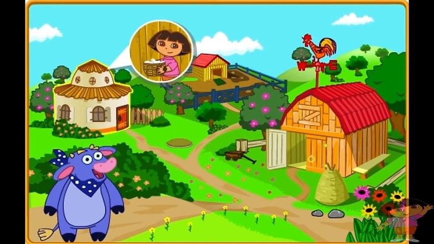 Dora aventureira em português Na fazenda completo jogabilidade 2016
