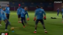 Lionel Messi And Neymar Have Fun In Training Ahead Of Real Madrid Vs Barcelona 21_11_2015