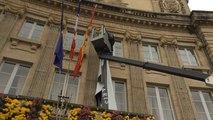La mairie rend hommage aux victimes des attentats