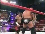 WWE Raw Triple H Saved By HBK