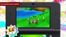 Mario & Luigi : Paper Jam Bros. - Paper Mario se plie en 4 pour Mario & Luigi