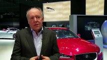 Jaguar Land Rover at the LA Auto Show 2015 - Interview Ian Callum Director of Design Jaguar