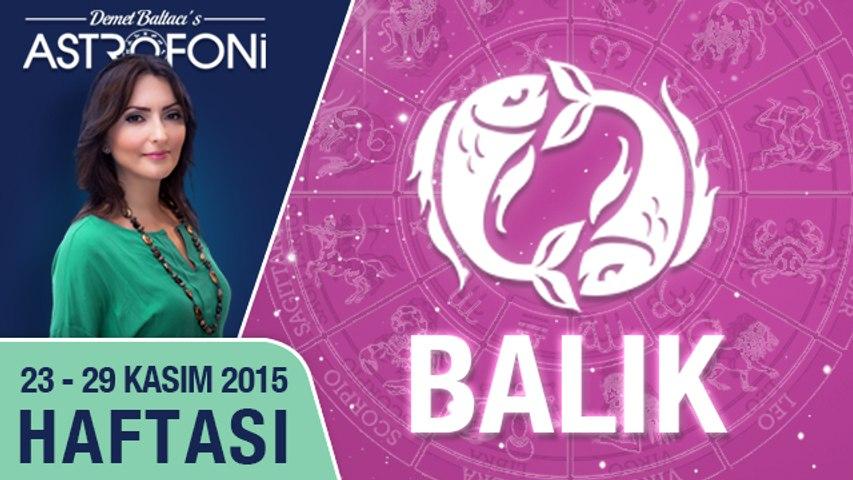 BALIK haftalık yorumu 23-29 Kasım 2015