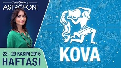 KOVA haftalık yorumu 23-29 Kasım 2015