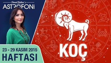 KOÇ haftalık yorumu 23-29 Kasım 2015