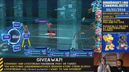 Livestream #2 de Digimon Story: Cyber Sleuth