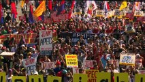 Protesters rally on final day of APEC summit