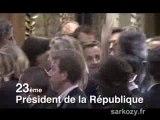 Nicolas Sarkozy Président de la France