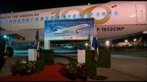 El avión número 100 de Copa, B737-800, llega a Panamá para surcar los aires