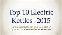 Best Electric Kettles 2015