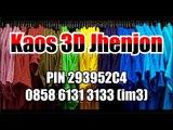 0858 6131 3133, Kaos 3d Murah, Harga Kaos 3D, Kaos 3d Bola