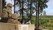 U.S. Soldiers Help Estonian Partners Train With Heavy Weapons