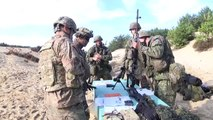 U.S. and Slovak armies took part in a combined weapons range during Exercise Dragoon Cross