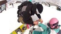 Snowboard enfant Luc Pélisson 2 Alpes