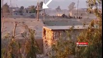 Iraq War 2015 - Massive Explosion Right In Front Of Iraqi Army Position Caused By IS SVBIED In Baiji