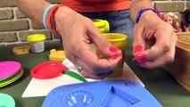 Çocuk filmi Play Doh hamurundan pizza yapıyoruz