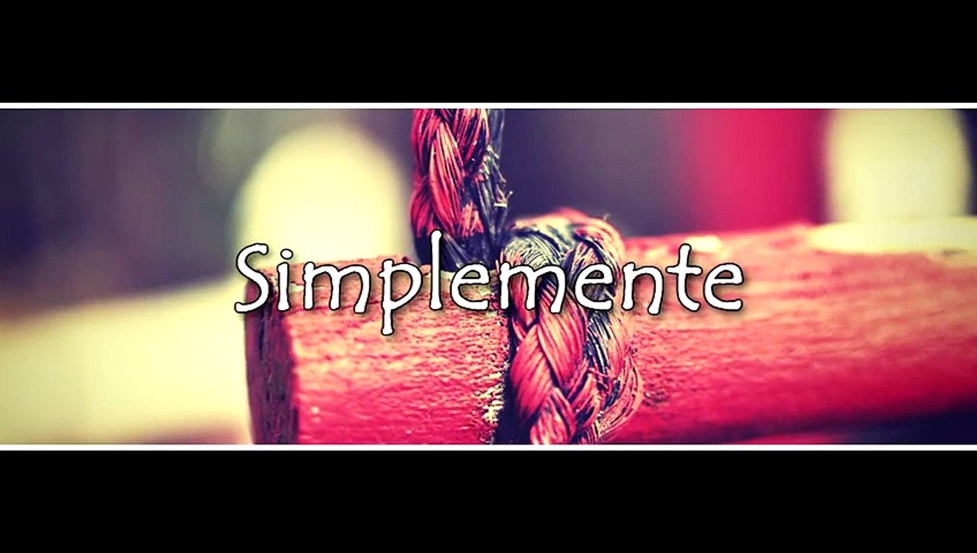 Simplemente - Banda La Misma Tierra [Vídeo Lyrics] [Música de banda 2015]