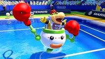 Dry Bowser & Bowser Jr Revealed in Mario tennis: Ultra Smash - Screenshot Slideshow