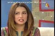 Ushna Shah Revealing Her Beauty Secret in a Live Morning Show