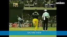 Sachin Tendulkar s Six in 1998 and his Six in Cricket All Stars