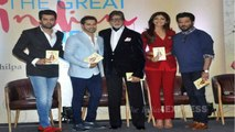 Amitabh Bachchan & Varun Dhawan At Launch Of Shilpa Shetty Kundra's Book The Great Indian Diet