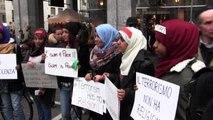 Musulmani in piazza a Milano con Not in my name: no al terrorismo