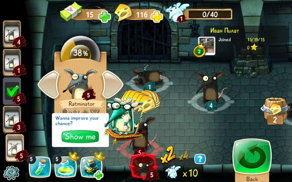 The Rats - Android gameplay PlayRawNow