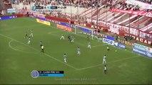 Gol de Pérez en contra. Huracán 1 - Belgrano 1. Fecha 30. Primera División 2015. FPT.
