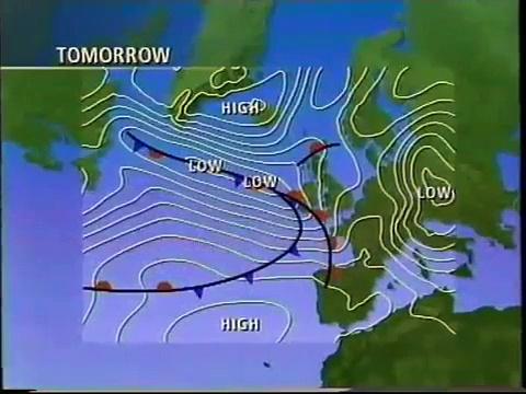 BBC2 continuity Saturday 16th November 1991