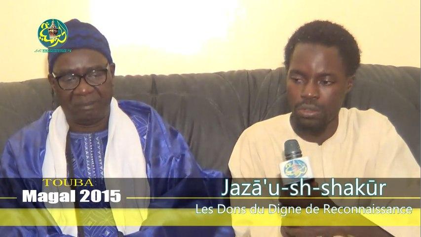 "2éme numéro de l'émission ""Jazâ'u-sh-shakûr""  avec S. Mbaye NGom Rijal"