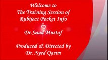 Rubiject Pocket Info Training by Dr. Saad