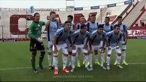 Bolatti recibió una ovación. Huracán - Belgrano. Fecha 30. Primera División 2015. FPT.