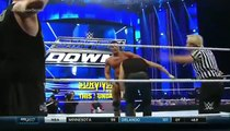 WWE SmackDown 11-19-15 Kevin Owens and Alberto Del Rio vs. Dean Ambrose and Roman Reigns
