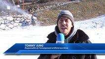 D!CI TV : Les canons à neige commencent à tourner aux Orres