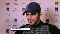 ATP London ~ Roger Federer vs Novak Djokovic ~ Roger Federer - I can build on beating Novak Djokovic