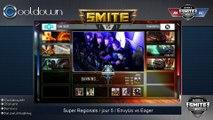 SMITE - SuperRegionals - 3ième place NA Team Eager vs Team EnVyUs - game 3