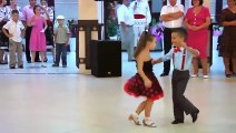 Awesome dance by two little kids, Little boy and girl dancing beautiful