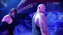 WWE RAW, The Undertaker & Demon Kane return and confront the Wyatt family, Nov 9, 2015