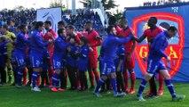 Bastia VS Gazelec Ajaccio : moment de recueillement avant le match