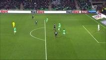 0-2 Georges-Kévin N'Koudou Goal France Ligue 1 - 22.11.2015, AS Saint-Étienne 0-