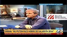 Dacian Ciolos la Radio Romania: SUNT CRESTIN ORTODOX