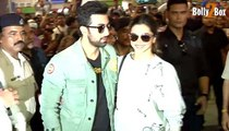 Ranbir Kapoor Hot Deepika Padukone Imtiaz Ali Mumbai To Delhi Journey for Bollywood Movie Tamasha Promotion - Bollywood News Gossips