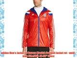 adidas Men's Jacket FC Bayern Munich Football Jacket rot - wei? - blau Size:XXXL 48-50 Chest
