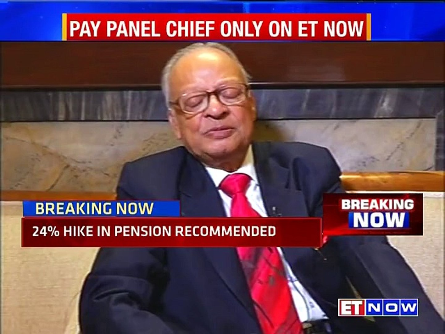 Pay Panel Chief Justice AK Mathur on th 7th Pay Commission recommendations