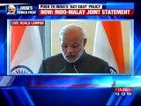 Narendra Modi Briefing On India-Malaysia Joint Statement