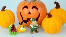 GIANT Play Doh Halloween Pumpkin Surprise Egg Toys Disney Vinylmation Opening Playdough Vi