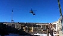 Hélicoptère Fail - AH-64 Apache Crash - Écrasement d'hélicoptère
