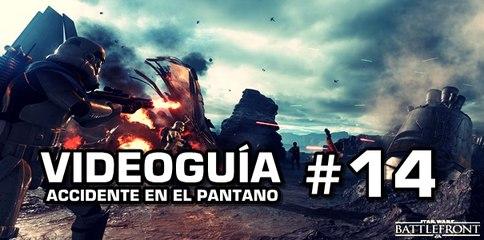 Star Wars: Battlefront, Vídeo Guía: 14- Accidente en el pantano.
