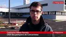 Concarneau. Centre de secours : un déménagement à la mi-janvier